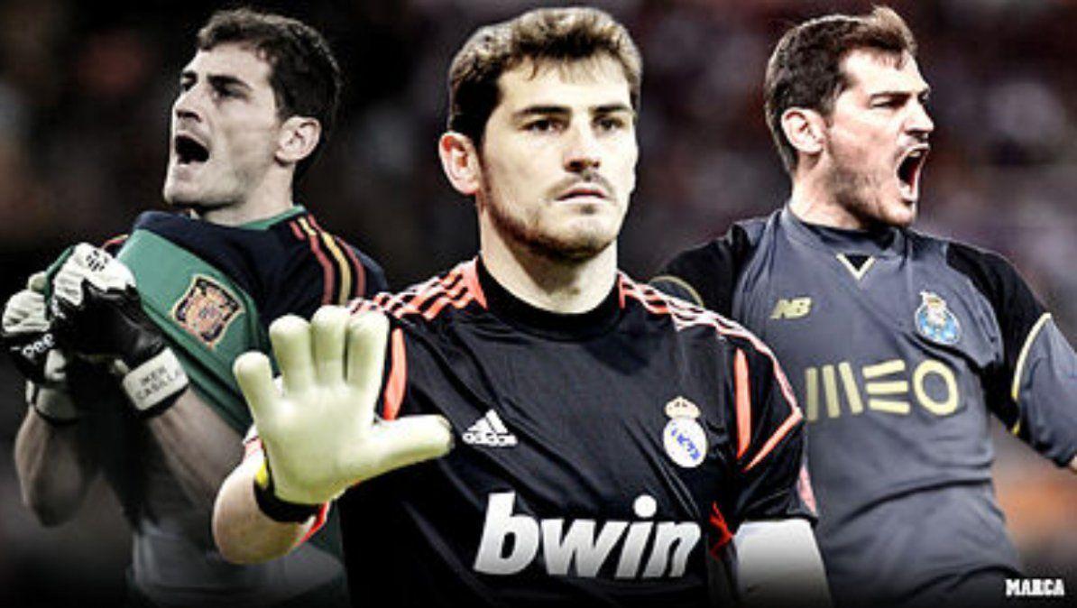 Iker Casillas anunció su retiro del fútbol profesional