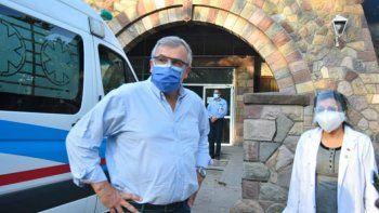 Por primera vez, Morales reconoció que parte del sistema de salud está colapsado