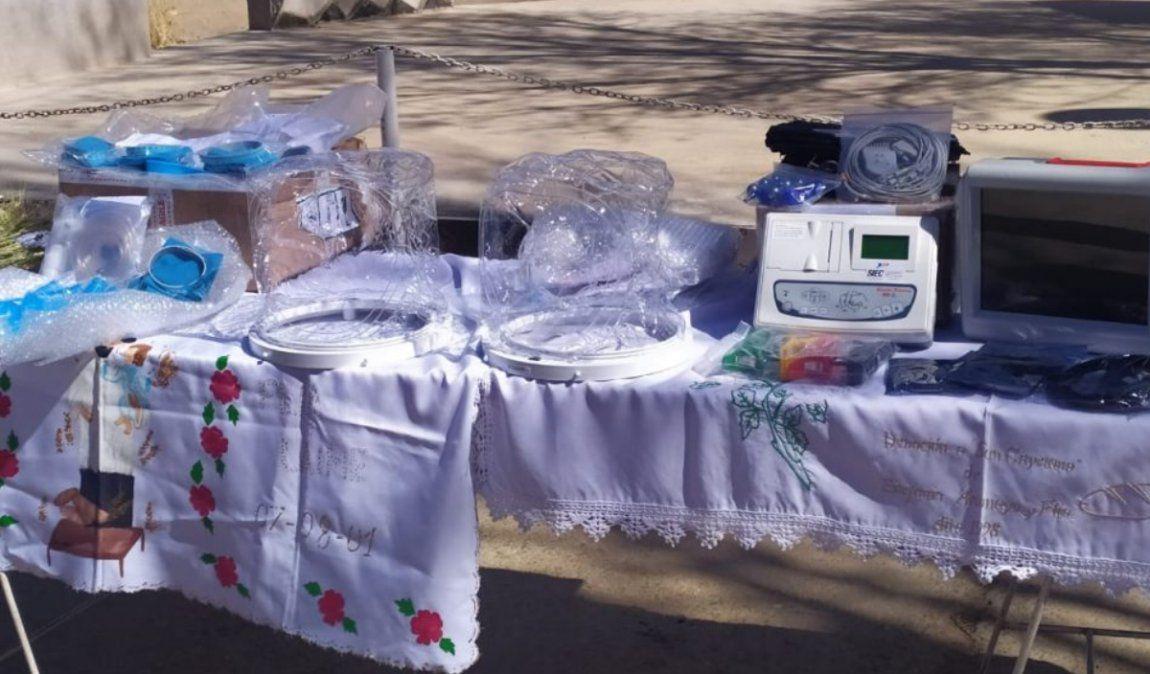 El Hospital de La Quiaca recibió la donación del casco que podría evitar el uso del respirador