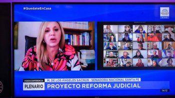 El oficialismo busca apurar el tratamiento de la reforma judicial en el Senado