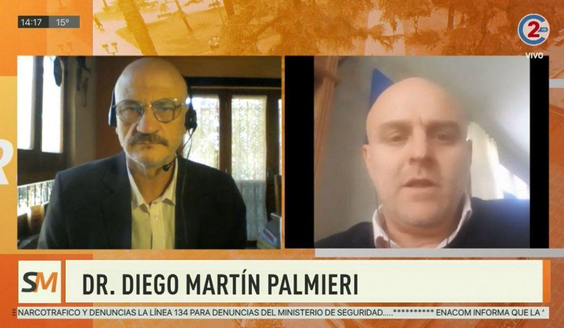 Sobremesa 12-08-20| Dr. Diego Martín Palmieri