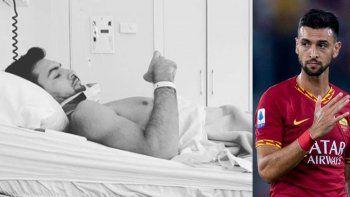 El mensaje de Javier Pastore tras su operación de cadera