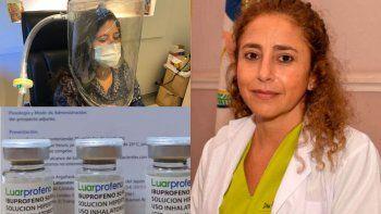 Jujuy profundiza el tratamiento con ibuprofeno