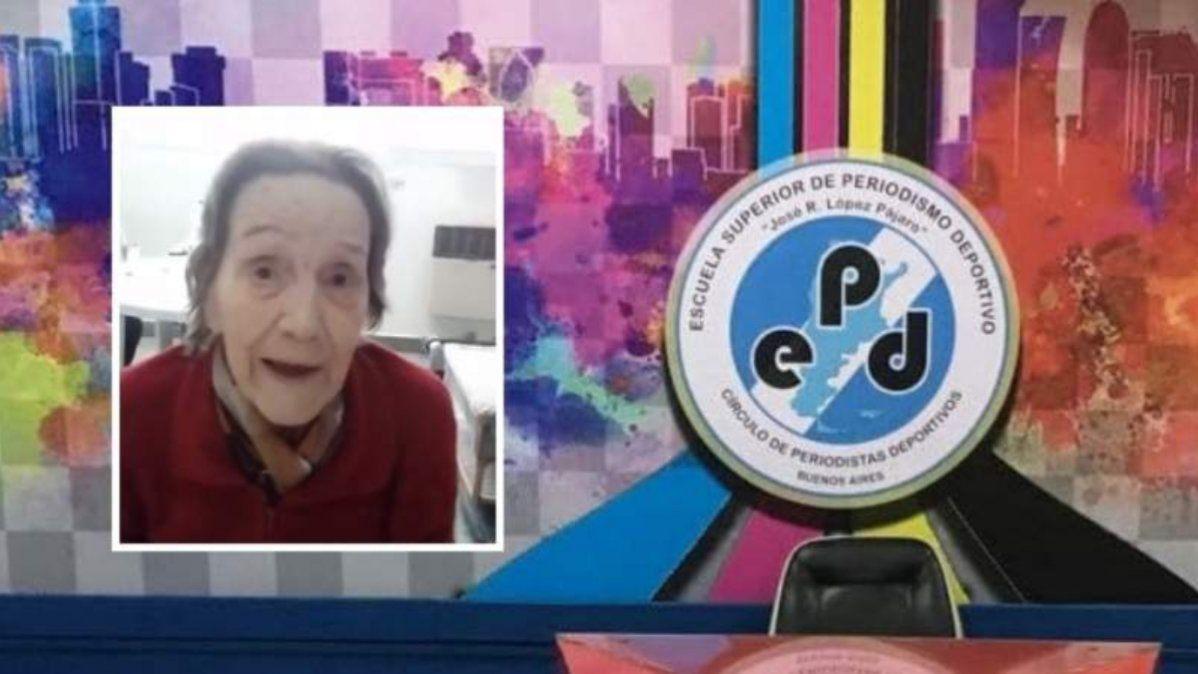 Falleció Nelly Winkler, la primera periodista deportiva de Argentina