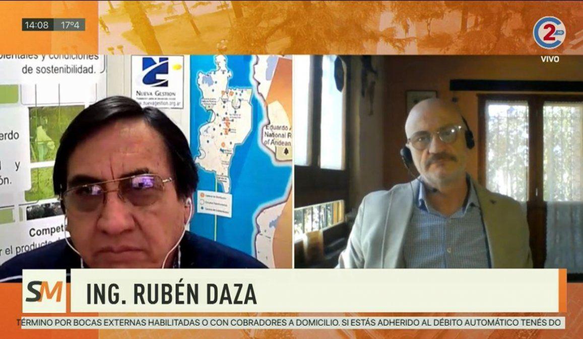 Sobremesa 13-08-20  Ing. Rubén Daza