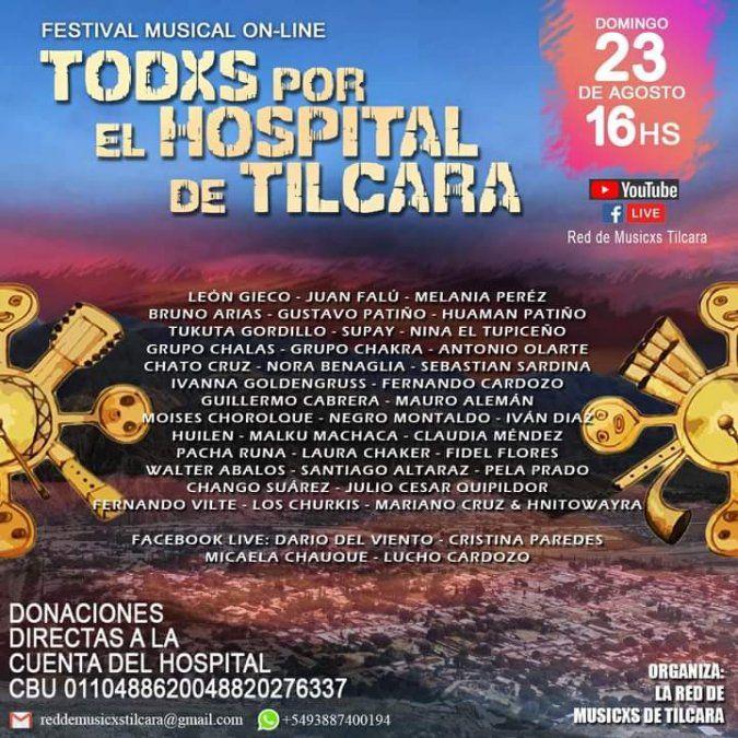 León Gieco, Micaela Chauque y destacados músicos se unen para ayudar al Hospital de Tilcara