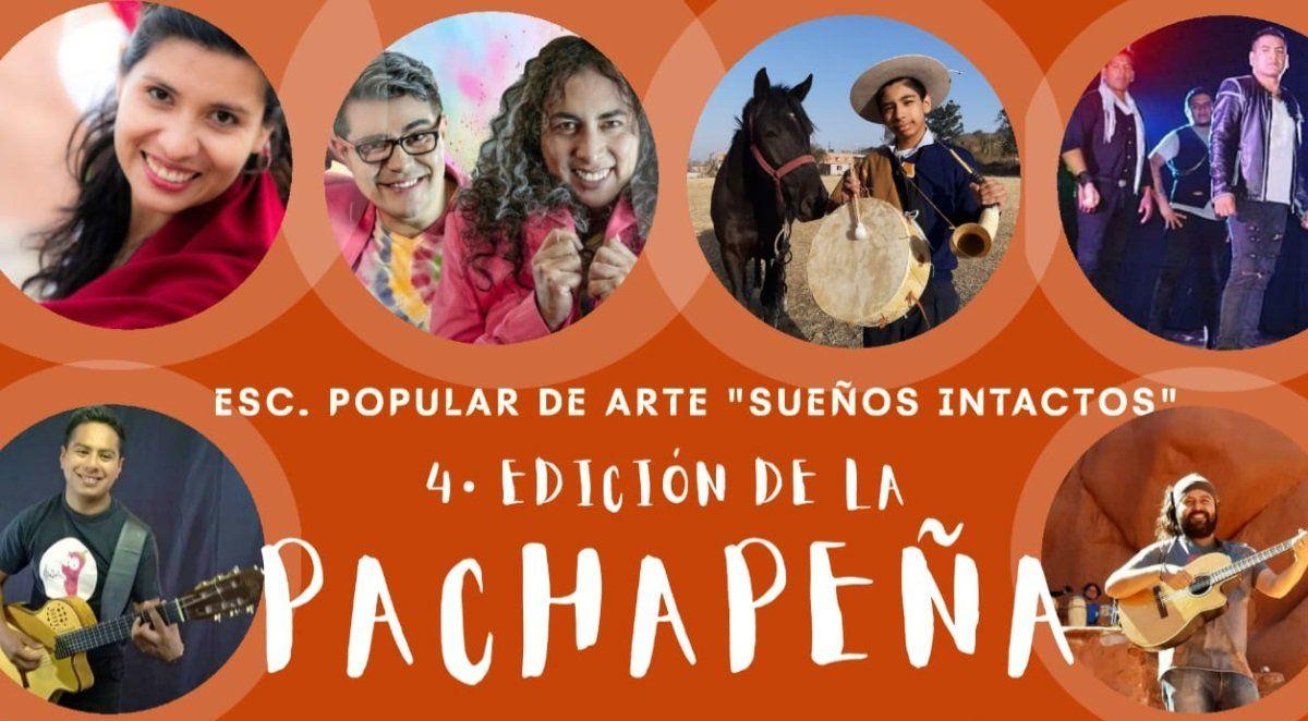 Este viernes se realizará la 4ta PACHAPEÑA junto a artistas locales