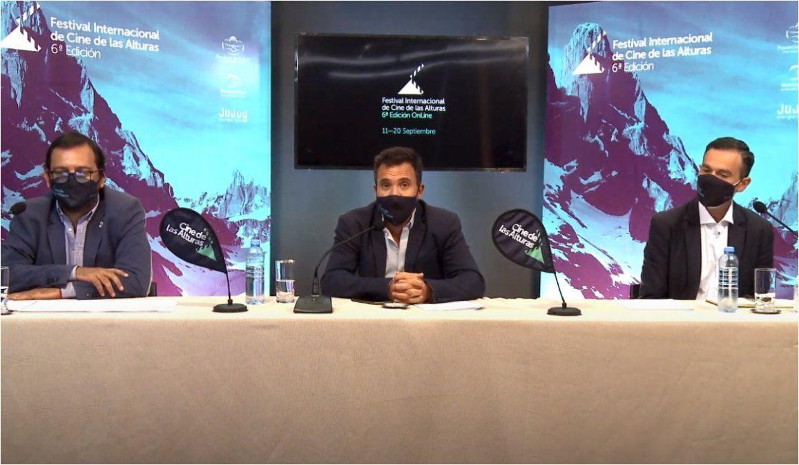 Se presentó la edición virtual del FestivalInternacional de Cine de las Alturas