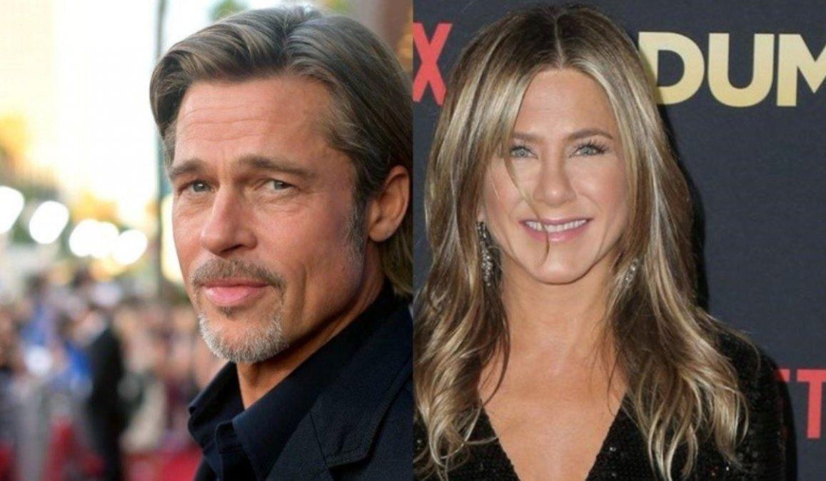 Reencuentro virtual de Brad Pitt y Jennifer Aniston