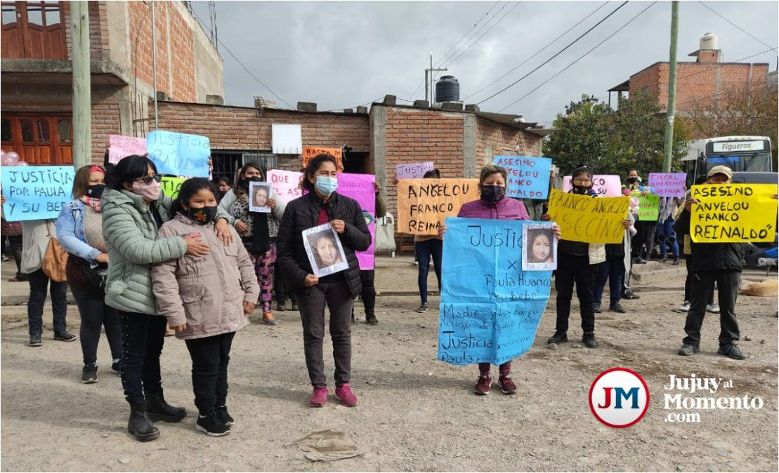 Con profundo dolor, pidieron justicia por la mujer embarazada que murió atropellada