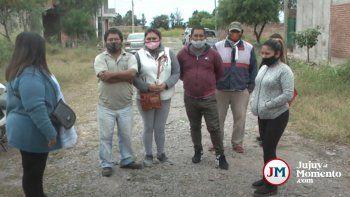 Monterrico: Quejas de vecinos del Loteo Monaldi por la inacción del municipio