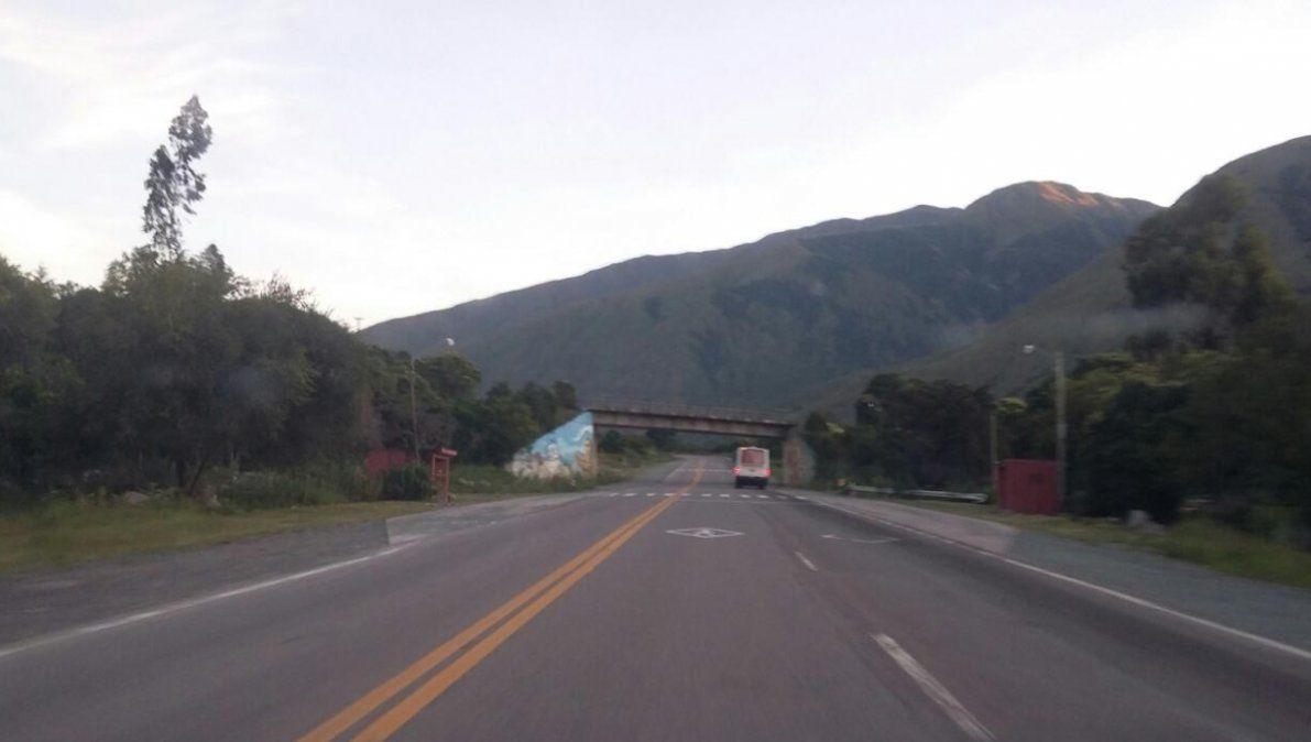 La Ruta 9 se mantiene transitable