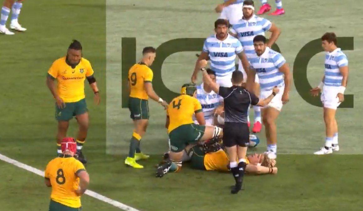 Los Pumas jugaron otro gran partido pero lograron un empate ante Australia