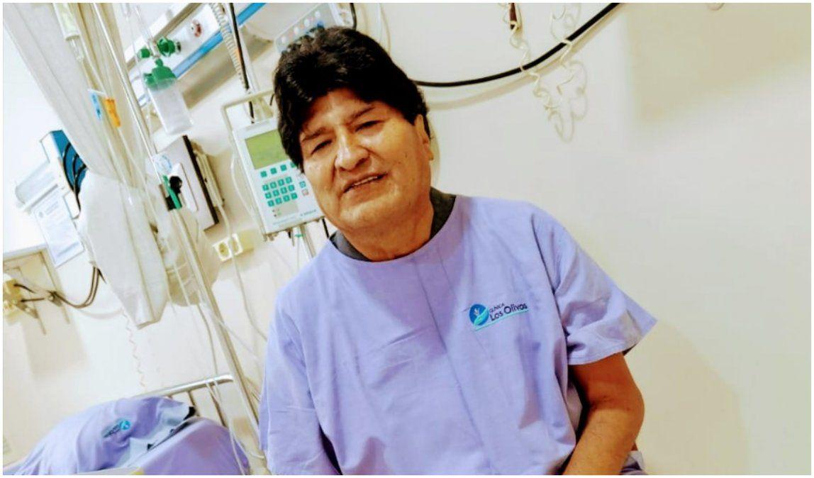 Evo Morales internado con coronavirus: Me siento muy bien