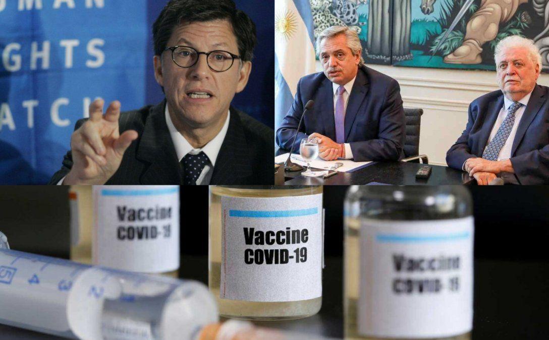 Vacunas VIP: El Observatorio de Derechos Humanos denunció que en Argentina y Perú se violó un principio básico