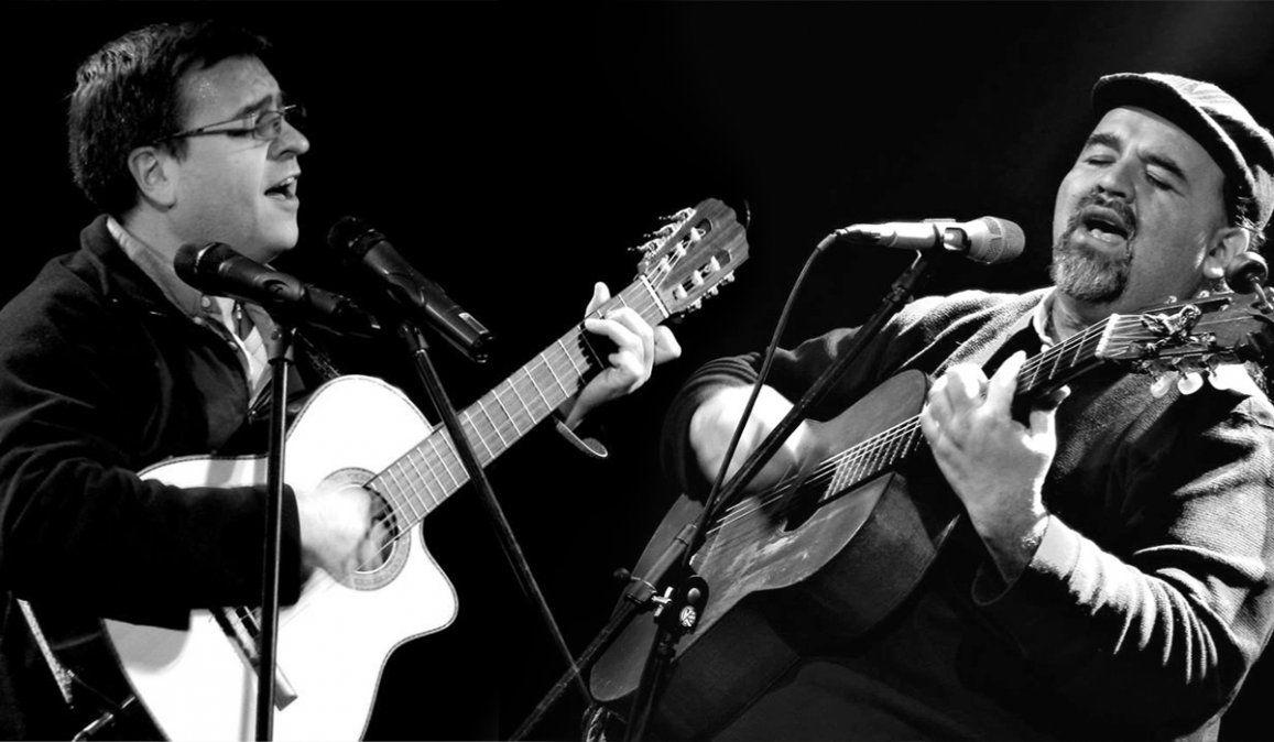 Pucho González y Adrián Temer en el ciclo de música del Tizón