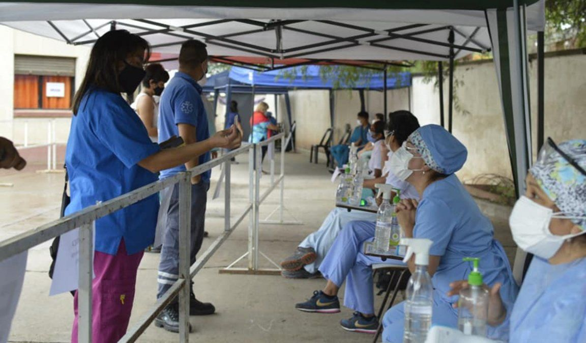 Terminó la primera etapa de vacunación en Jujuy: Hubo 4.465 trabajadores de salud inoculados