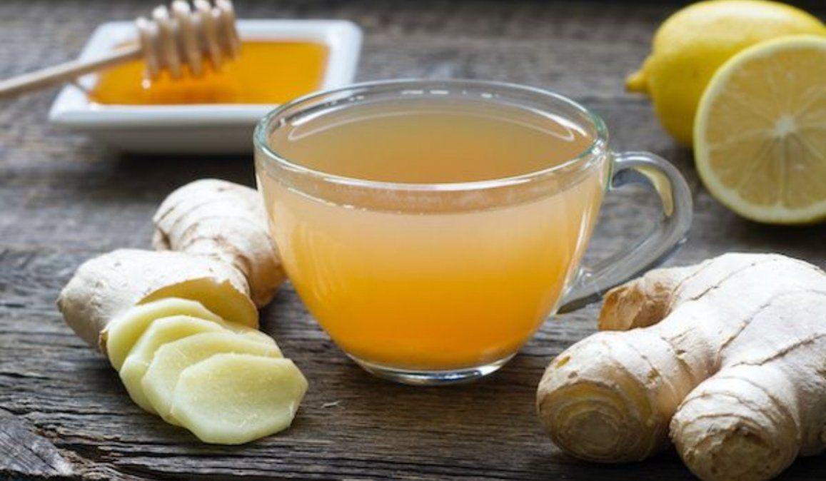 Té de Jengibre con Miel y Limón