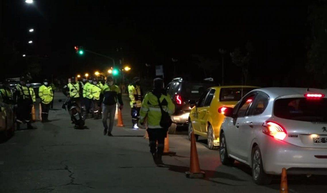 Más de 200 conductores alcoholizados durante el fin de semana carnavalero