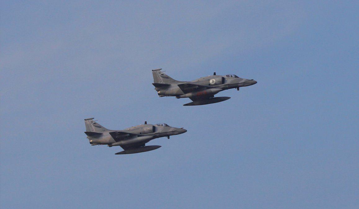Aviones de guerra alteraron a los jujeños en las redes sociales