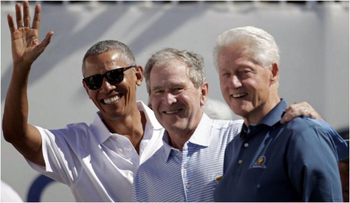 Obama, Bush y Clinton son voluntarios para la vacuna del coronavirus