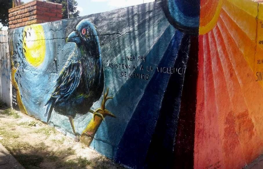 Dos murales para reflexionar sobre violencia de género