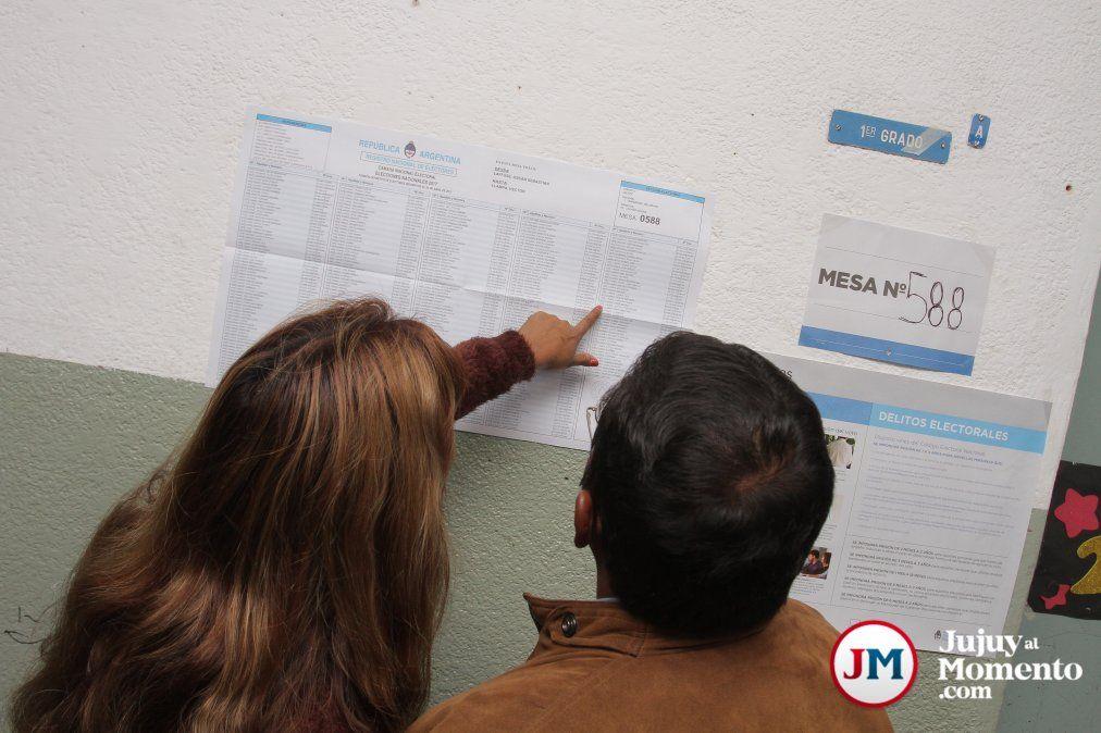 Ya se puede consultar el padrón provisorio en Jujuy