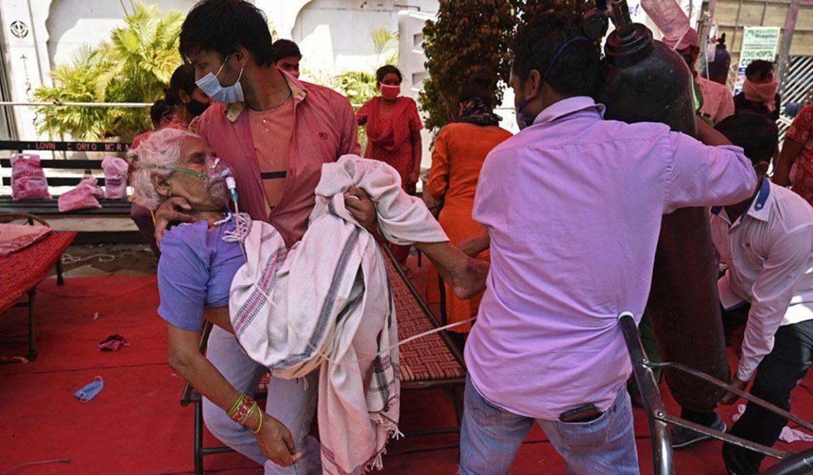 La pandemia sigue haciendo estragos en India: 20 millones de casos y 220 mil muertes
