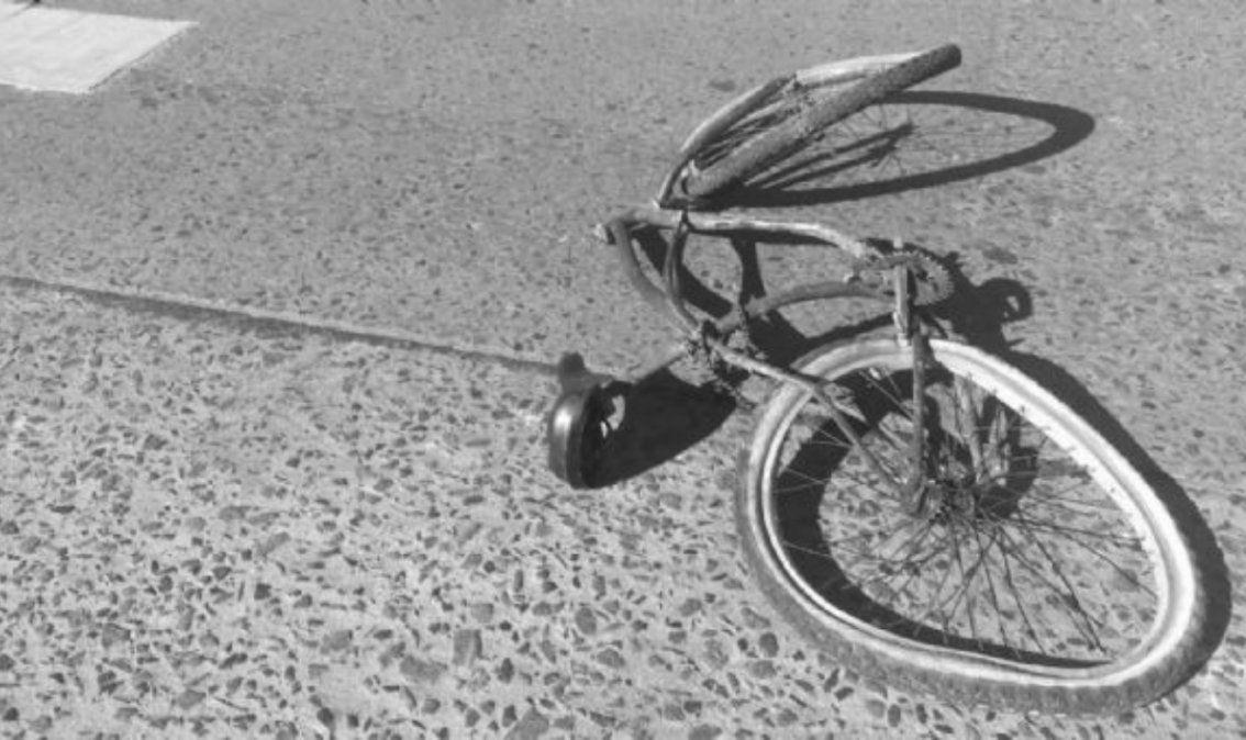 Conductora alcoholizada atropelló a una mujer en bicicleta