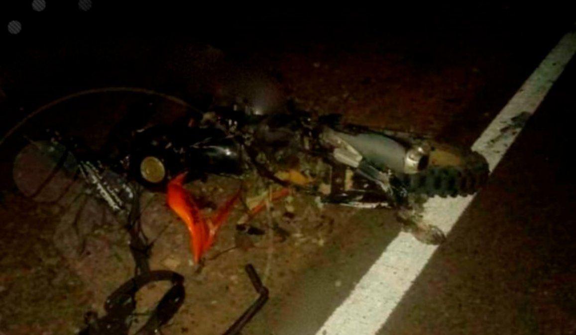 Tragedia en la Ruta 9: Tres muertos tras chocar de frente dos motos