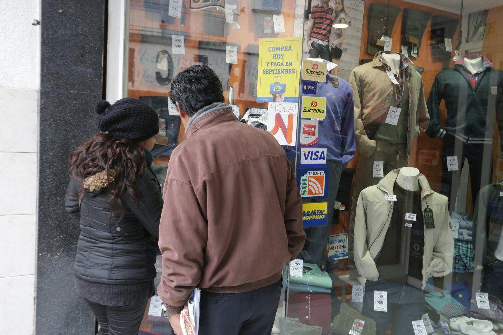 En Jujuy, los comercios no llegan al 50% de las ventas