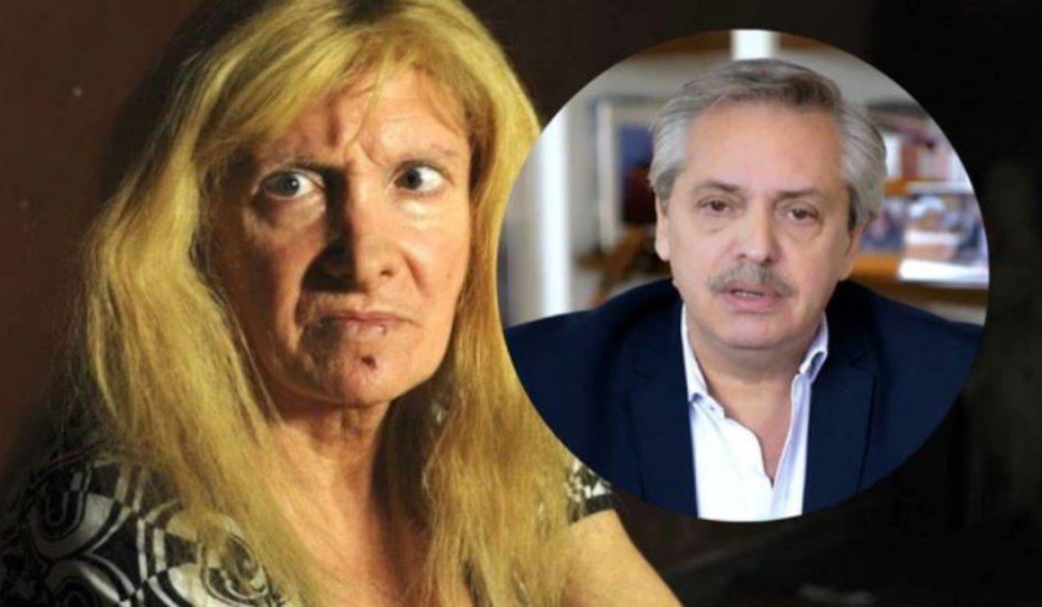 El sueño erótico de Zulma Lobato con Alberto Fernández: Me dijo que me quería