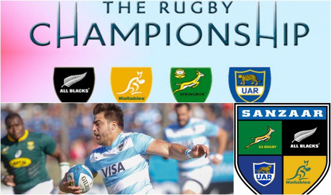 El Rugby Championship se jugará en Nueva Zelanda a fin de año