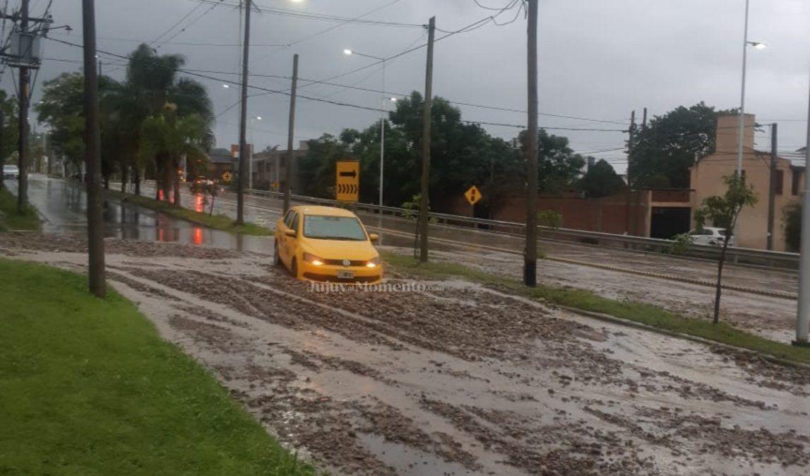 Temporal: 12 familias afectadas por inundaciones en los barrios