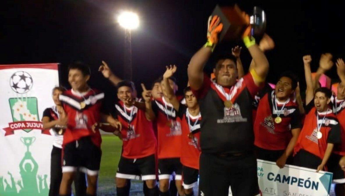 Atlético San Pedro, campeón en fútbol inclusivo