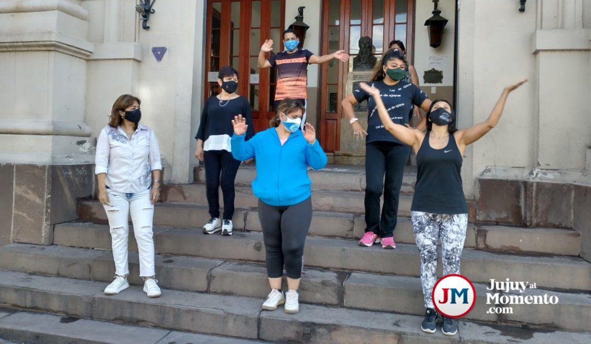 Contundente rechazo de los docentes a la cita para bailar Jerusalema