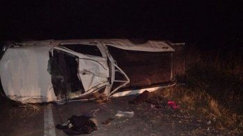 Accidente fatal: una joven murió tras un vuelco