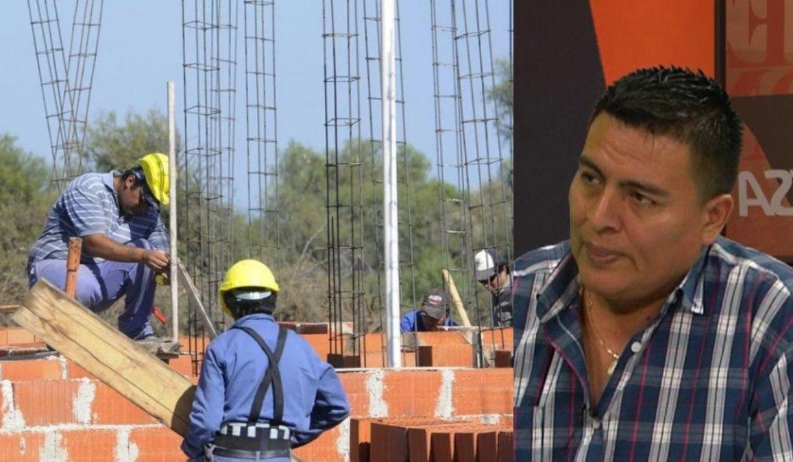 Más de 9 mil trabajadores de la construcción se encuentran desocupados en Jujuy