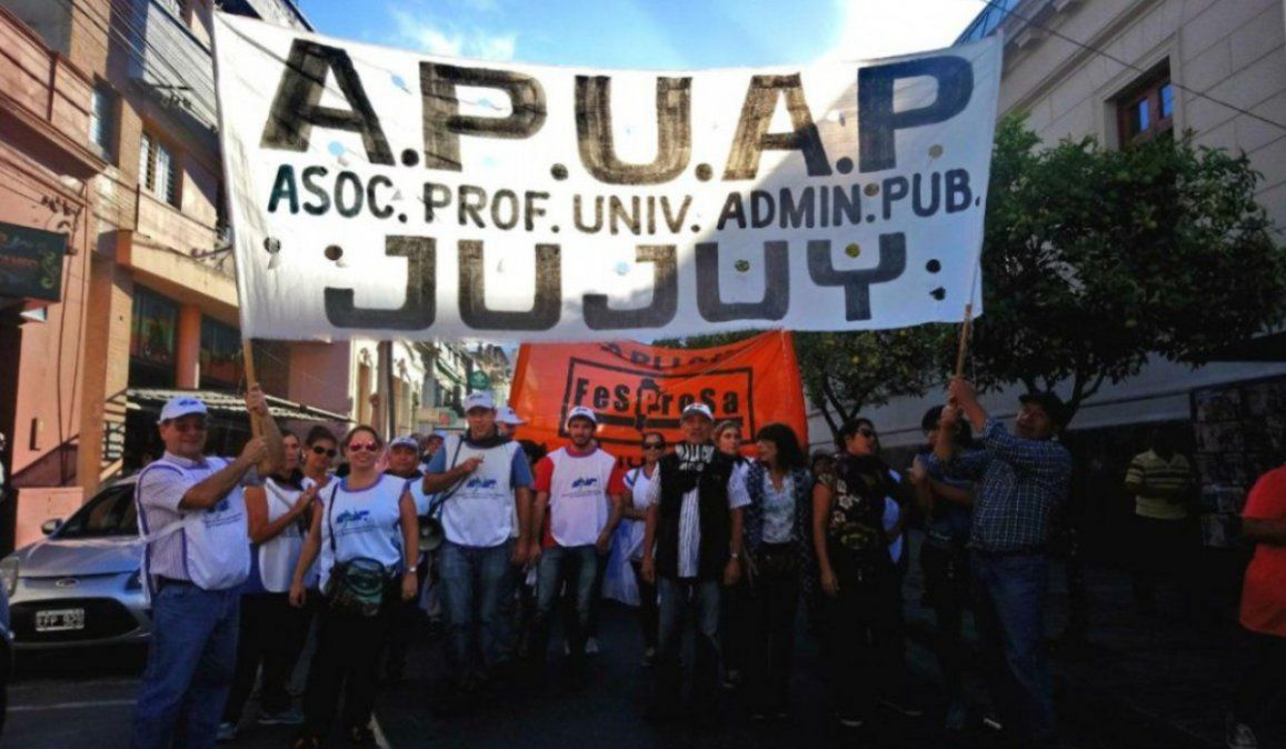 APUAP anunció paro de 48 horas para la próxima semana