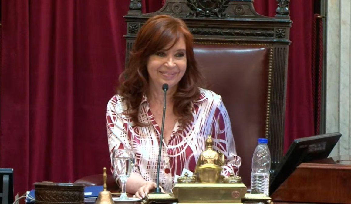 Cristina Kirchner acepta cambios y habrá sesión virtual el 13 de mayo