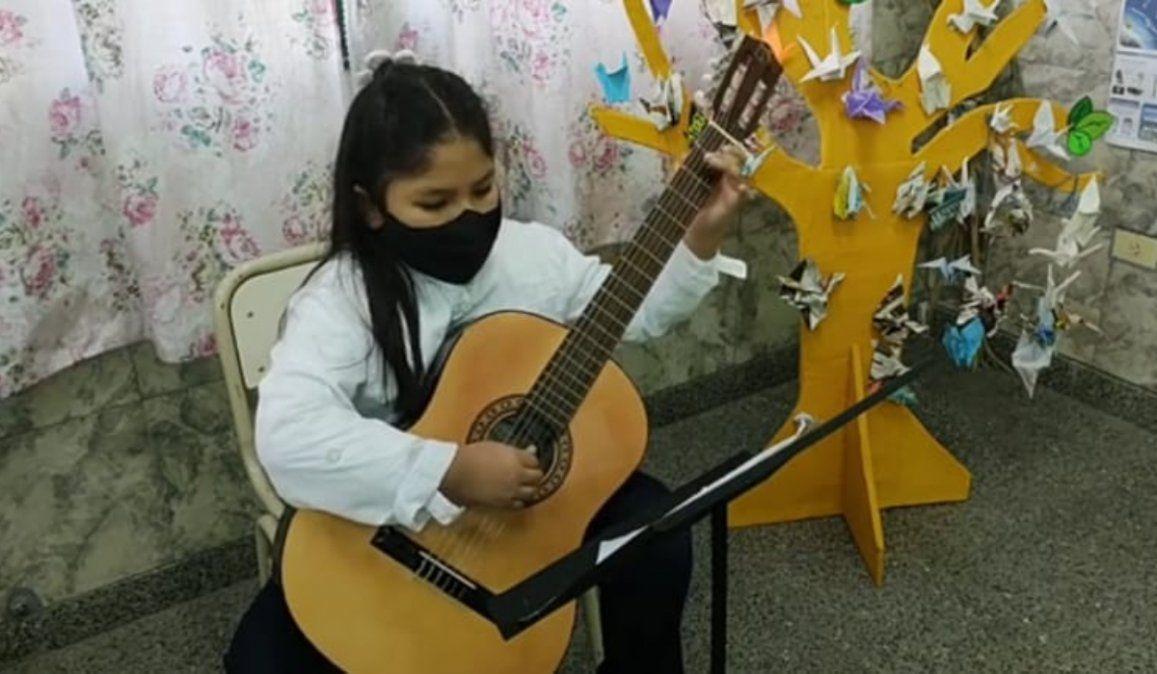Estudiantes de Música con Alas fueron reconocidos en certamen internacional