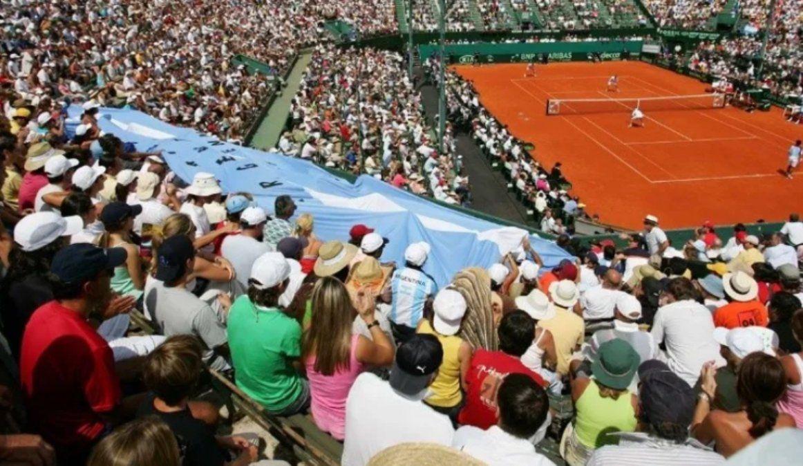 Argentina jugará con público la Copa Davis