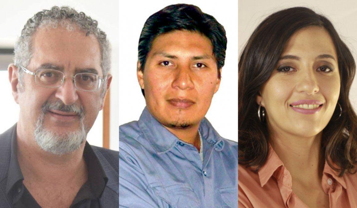 Bouhid, Vilca y Chaher precandidatos para las próximas PASO