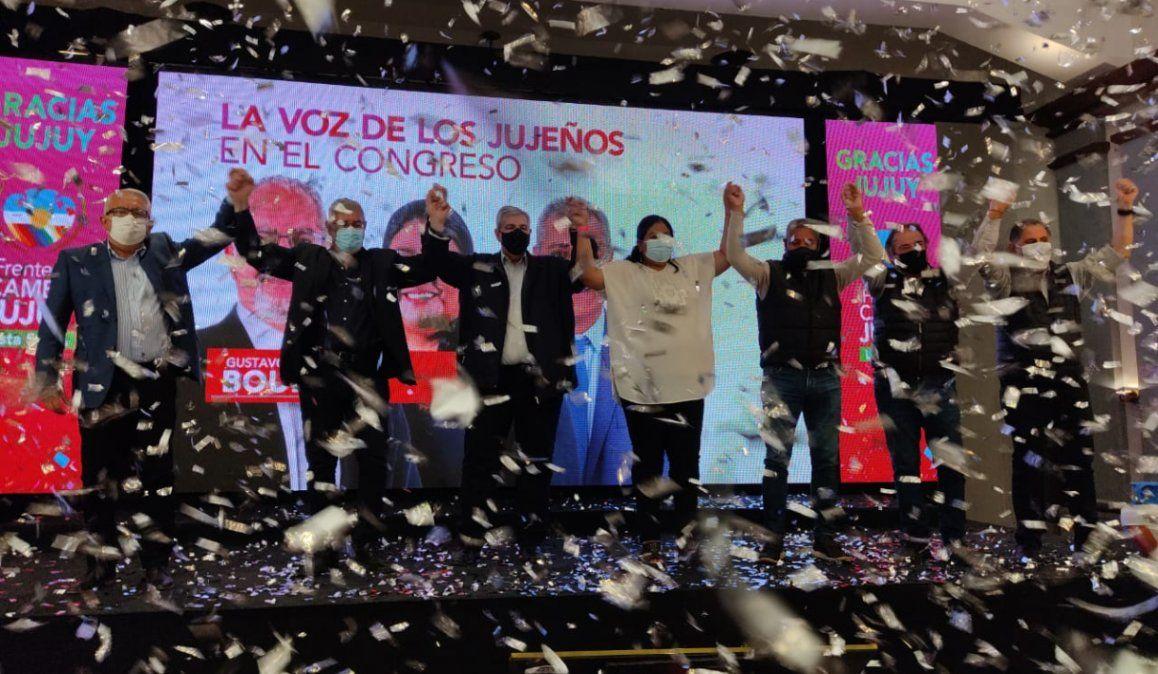 El Frente Cambia Jujuy se impuso en las PASO