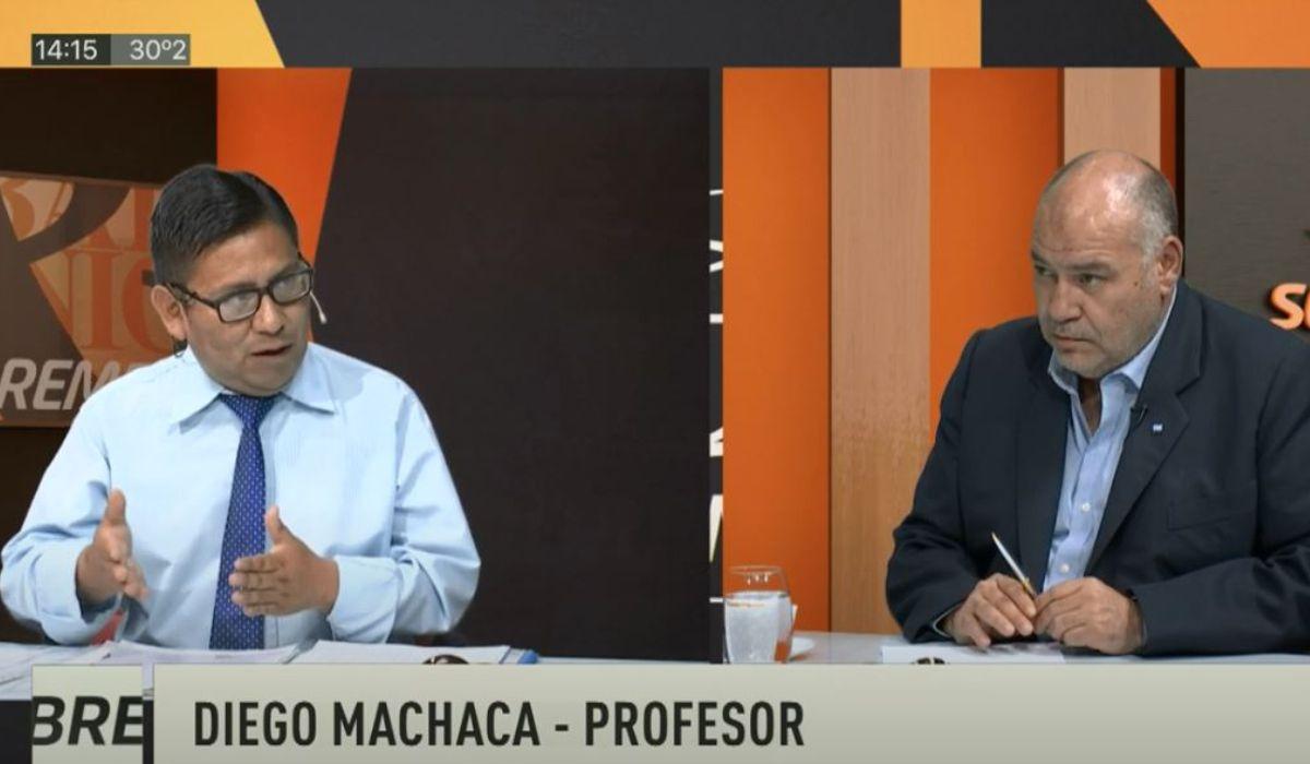 Sobremesa: Diego Machaca