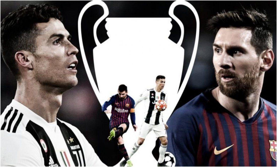 Se sortearon los grupos de la Champions; habrá duelo Messi- Cristiano