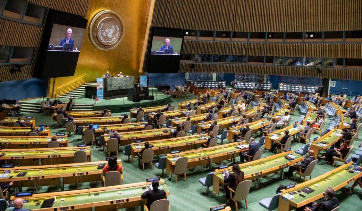 La ONU festeja sus 75 años con un llamado a la paz global para luchar contra el coronavirus