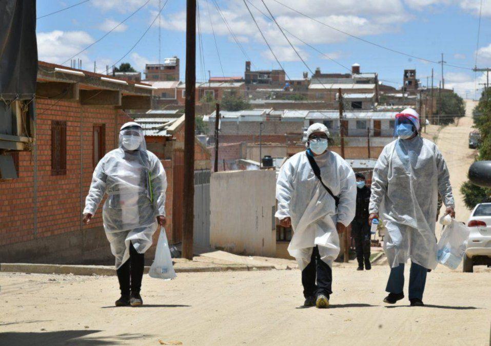 Tránsito permanente por los pasos ilegales y 150 casos activos en La Quiaca