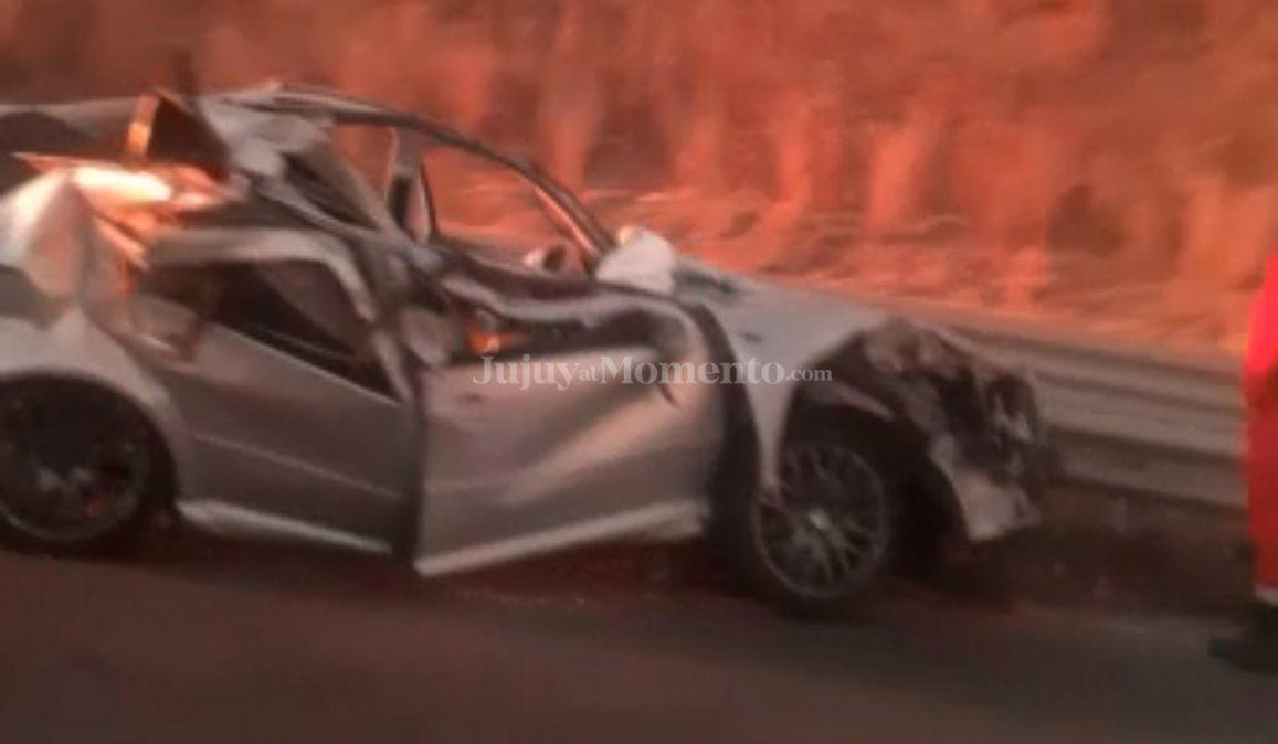 Accidente en Ruta 9: Un auto chocó contra un camión
