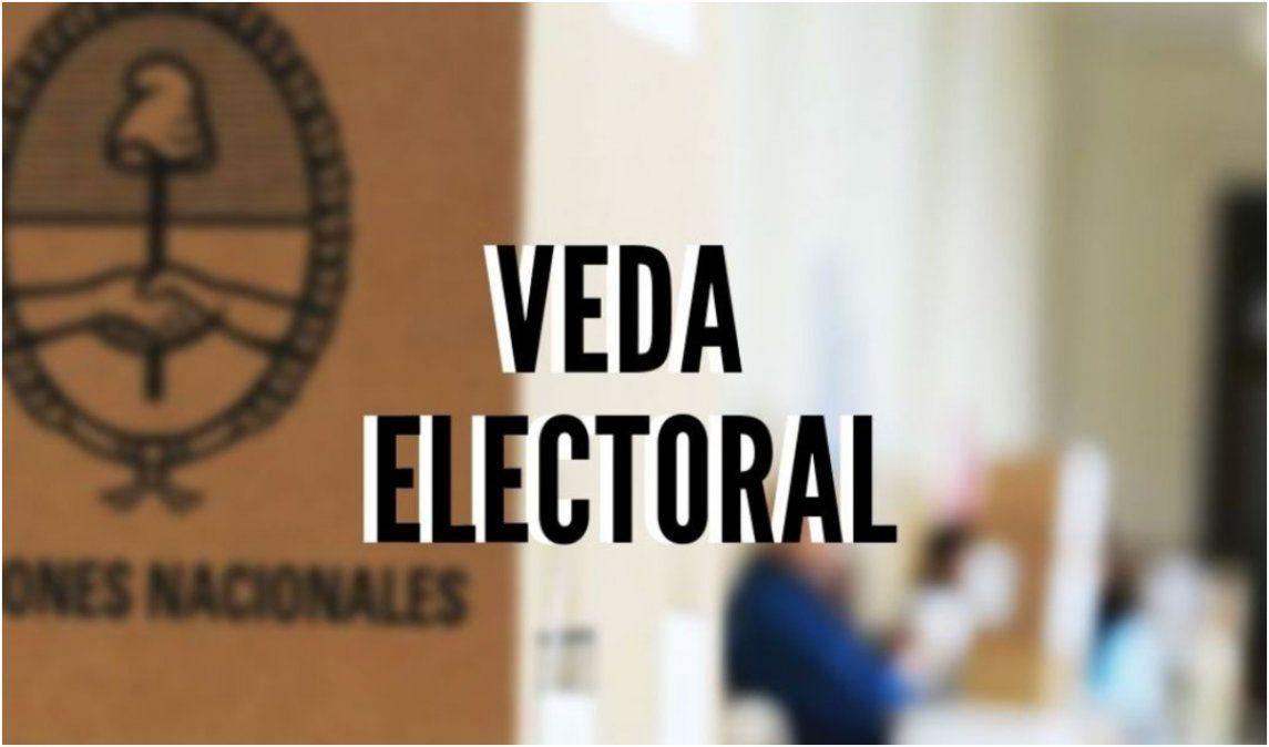 Rige la veda electoral: ¿Qué está prohibido?